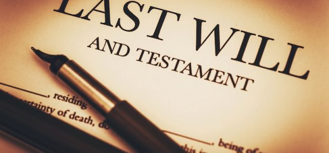 Importance of Writing your Will.